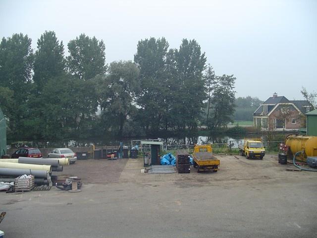 Nieuwbouw garage Van Doorn Groep Nieuwerbrug -
